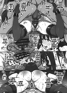 英语漫画 SEX❤HAREM - part 635, producer , akagi , stockings , anal