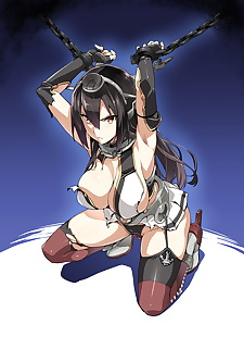 英语漫画 nagatama renshuu 周 nagatama.., nagato , stockings , bondage