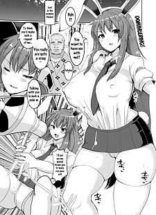 英语漫画 namahame saimin hatsujou 兔子 raw.., Inaba , Reisen , stockings , impregnation